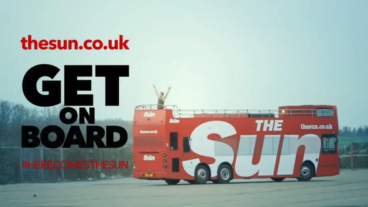 Sun Online Advert – Pole Vaulter vs. Bus